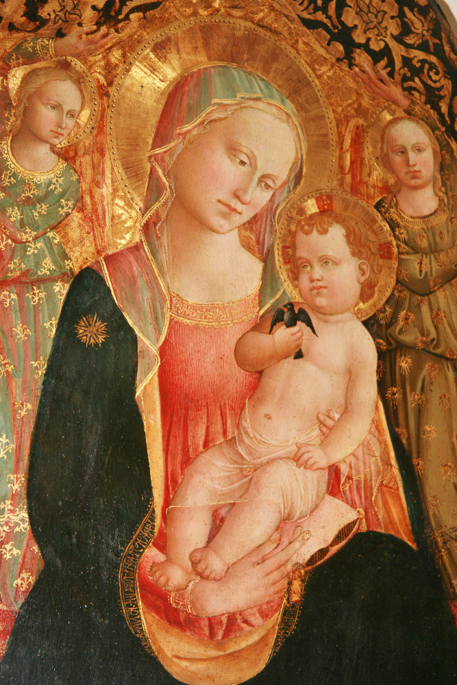 Domenico Michelino, Madonna dell'umiltà